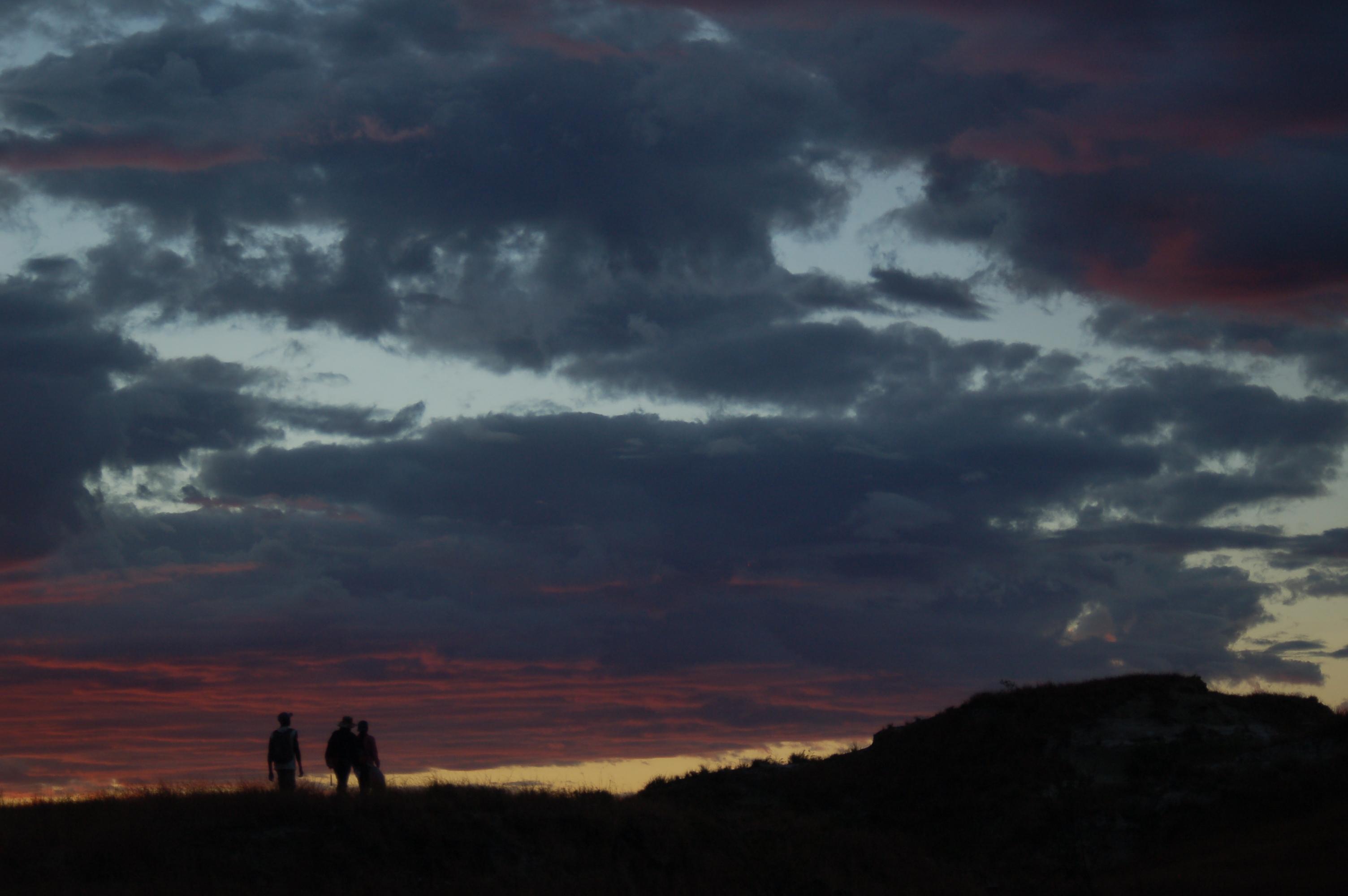 Sunset near Berivotra Quarry
