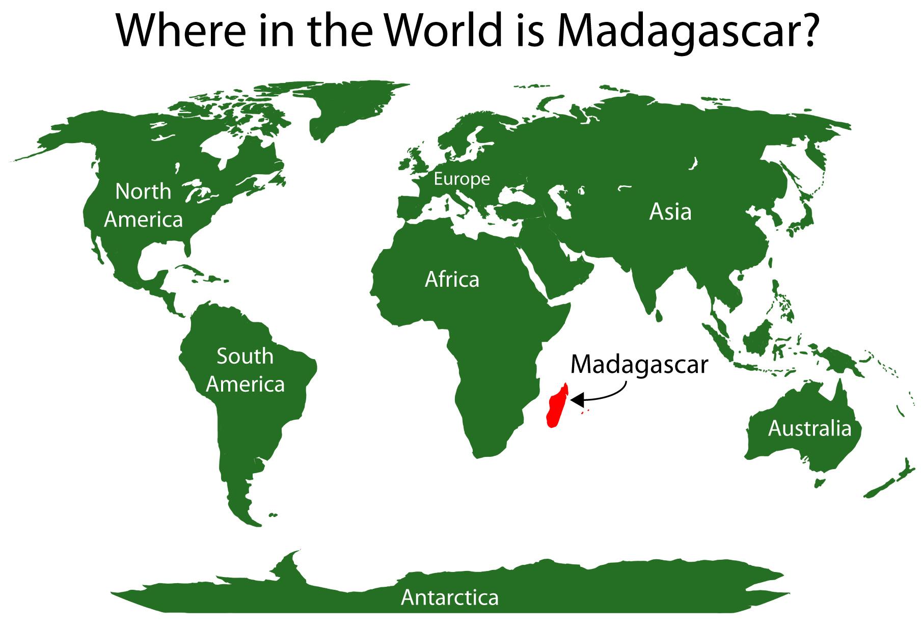 Where is Madagascar   Metro Map   Bus Routes   Metrobus Way Map ...