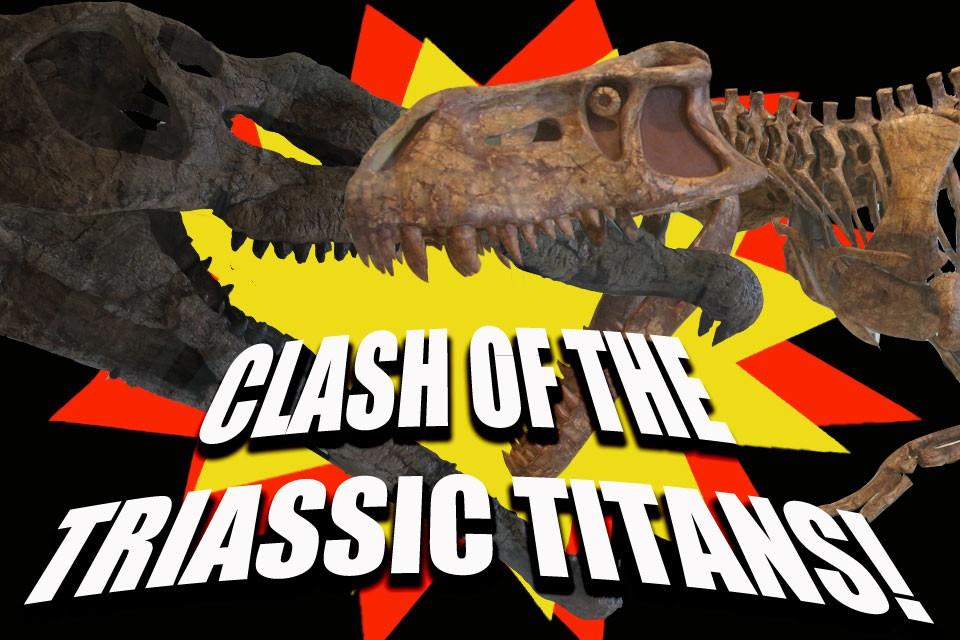 Quick Bite: Clash of the Triassic Titans!