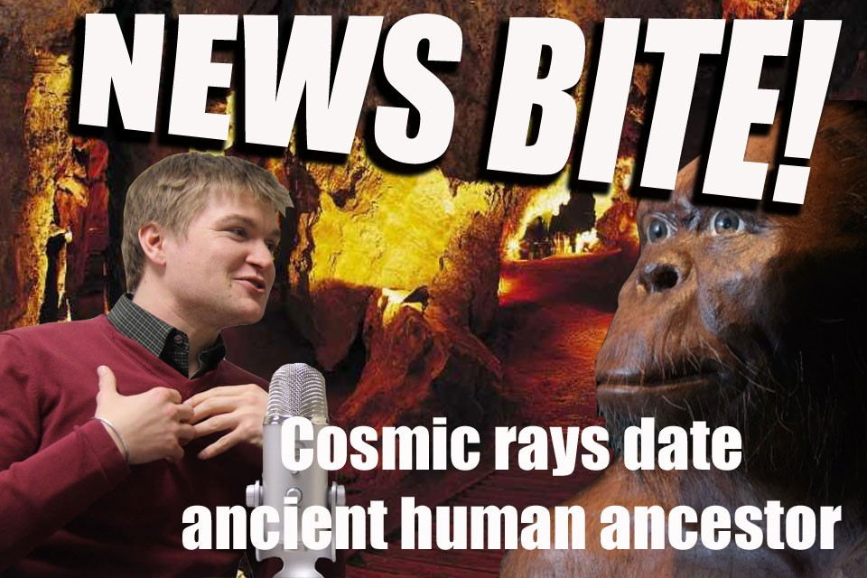 News Bite: Cosmic rays date ancient human ancestor