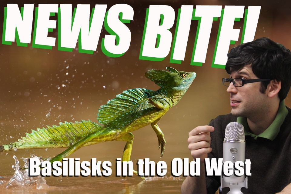 News Bite: Basilisks in the Old(er) West!
