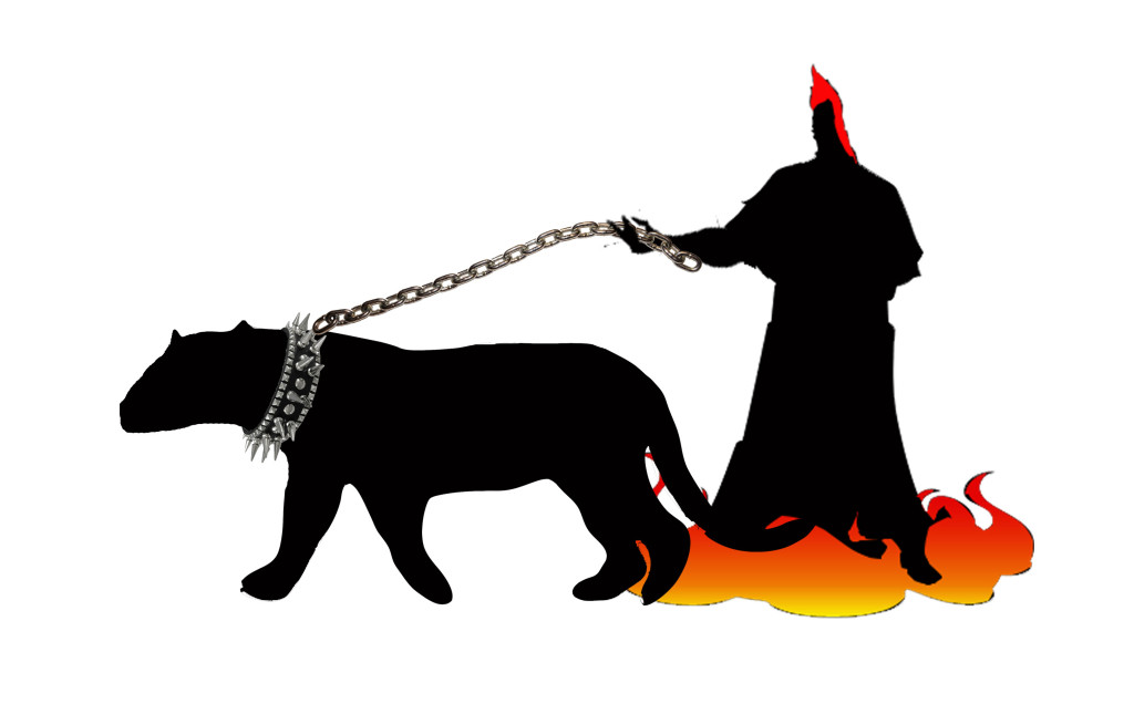 Kerberos is named for Cerberus, the three-headed hell-hound that guarded the gates of Hades, the Greek underworld.