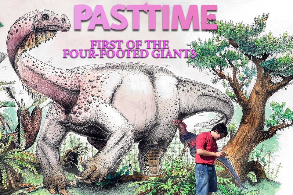 Episode 29 – First of the Four-Footed Giant Dinosaurs!